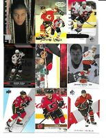 Calgary Flames 465 Card Sorted Lot IGINLA GAUDREAU FLEURY KIPRUSOFF KIP