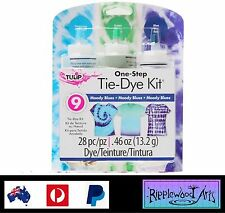 Tulip One Step - 3 Color Tie Dye Kit - MOODY BLUES - Dyes up to 9 Projects