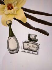 2 Dior Miniatures- J'adore edp 4 ml left & Miss dior cherie edp 2.3 ml left