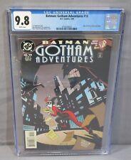 BATMAN GOTHAM ADVENTURES #10 (Joker, Harley Quinn) CGC 9.8 NM/MT DC Comics 1999