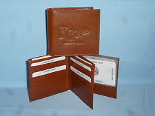 KANSAS CITY ROYALS   Leather BiFold Wallet    NEW    brown 4 +