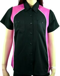 Women's Button Down Casual Work Shirts with 2 front pockets