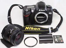Nikon D D70 6.1MP Digital SLR Camera Body w/ Nikkor 35-80mm F4-5.6 AF D Lens