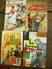 lot de 4 livres collection marabout  n° 181 - 182 - 185 - 217