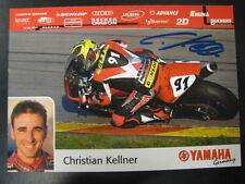 Yamaha Motor Germany Team World SSP 2002 #91 Christian Kellner (D) gesigneerd