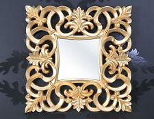 Espejo de pared con acabado antiguo Lujoso palaciego Barroco y Rococó specchiera