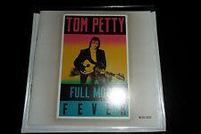 TOM PETTY - 13 Track U.S. Promo CD - FULL MOON FEVER c/w rare FREE FALLIN' Live