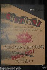 JAPAN Ai Yazawa Nana 1st Illustration Collection Art book