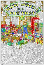 The World's Most Challenging Giant Coloring Poster (32½ x 22 Inches)