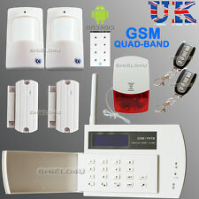 Sicurezza WIRELESS LCD GSM Automatica Casa Ufficio Casa Allarme Antifurto intruso