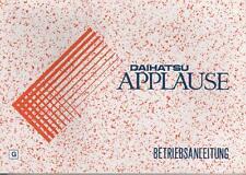 DAIHATSU   APPLAUSE  Betriebsanleitung  1997  Bedienungsanleitung   Handbuch  BA