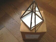 Nkuku Bequai Display Pyramid in Brass - Small