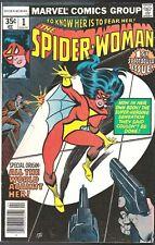 SPIDERWOMAN # 1 MARVEL COMICS 1980 BRONZE 1978 NEW ORIGIN STORY SPIDER-WOMAN