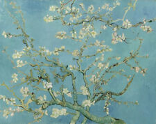 Almond Tree Vincent Van Gogh Painting Canvas Print Floral Wall Art Small 8x10