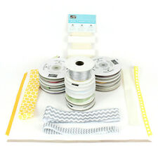 "Stampin' Up! Ribbon Lot 20 Spools 1/4"" Grosgrain Organdy Cardmaking Scrapbooking"