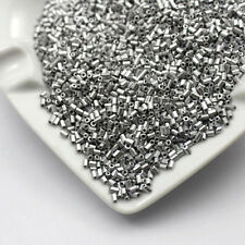 1000pcs 2*3mm 16g Metal Color Opaque Tube Czech Glass Seed Beads DIY Jewelry