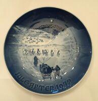 Bing & Grondahl Christmas In Greenland Chrismas Collector Plate 1972 Porcelain