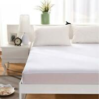 Single Mattress Protector,Incontinence Sheet Waterproof Terry Towel Fitted Sheet