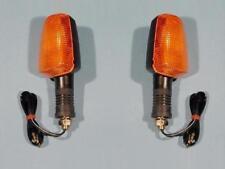 2 FRECCE F. UNIVERSALE HONDA CB CX XL 250 400 500 650 750 14,5cm 2x turn signal
