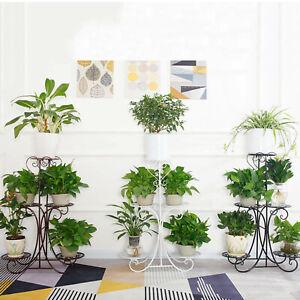 5 Tier Plant Stand Flower Pot Shelf Rack Holder Garden Christmas Home Décor