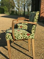 Pair of bridge chairs to restore and third chair