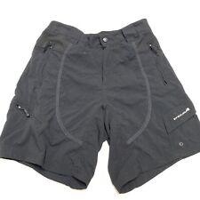 Endura Womens Hummvee Black Shorts Size Medium M Cycling