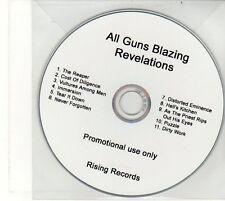 (EU271) All Guns Blazing, Revelations - DJ CD