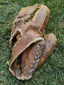 "Ernie Banks Chicago Cubs Vintage Wilson A2934 11"" Fieldmaster Baseball Glove"