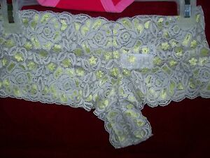NEW NWT No Boundaries Juniors Boyshorts Bikini Thong Panties M L FREE SHIP w 3