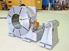 "Troyke 20"" Rotary Table, 4 axis Cnc, 10"" Thru-Hole, Nc-20-B-0 Indexer Fanuc Mill"