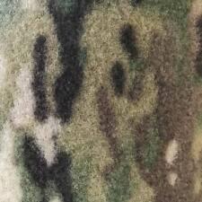 Pieza marca VELCRO® ancho 5 cm x 20 cm largo pelo camuflaje multicam coser 50 mm