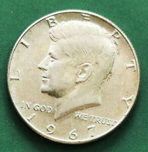 USA 1967 Kennedy Silver HALF Dollar UNC Coin