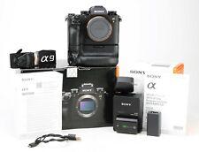 Sony A9 Mirrorless Digital Full Frame Camera Body E Mount + VG-C3EM Grip - Boxed