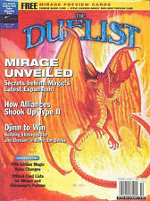 Duelist Magazine Issue #13 New NM 1996 MTG Guide Price Guide H28