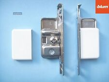 Blum ZSF.170-02.01 Kitchen Drawer Fixing Brackets, including White Covers (pair)