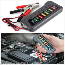 12V Car Motorcycle Truck High Quality LED Digital Battery Alternator Tester Tool