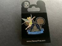 WDW - Cinderella Castle in Mickey Icon Tinker Bell Disney Pin 58796