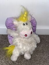 """Happy Nappers unicorn castle play pillow transforms 9"""" Soft Plush Home Sweet"""