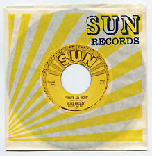 Rare Rockabilly 45 - Elvis Presley - That's All Right - 1-Sided Repro - Sun 209