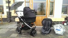 Maxi cosi mura 3 baby carry cot and travel system