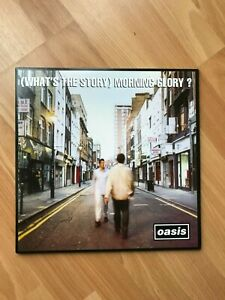 Oasis - What's The Story Morning Glory RKIDLP73 With Inner Sleeves.