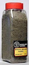 Woodland Scenics Static Grass Flock Medium Green 32 oz FL635