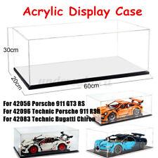 Acryl Vitrine Haube Für LEGO 911 GT3 RS Technic Bugatti Chiron 42056 42096 42083