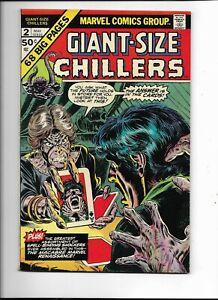 Giant Size Chillers 2 VF- (7.5) 5/75 Bill Everett artwork!