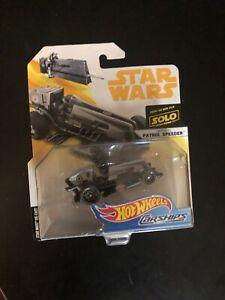 Star Wars 2018 Imperial Patrol Speeder Hot Wheels Carship Mattel Carships