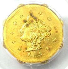 1870 Liberty California Gold Dollar Coin G$1 BG-1118 - PCGS MS63 - $2,900 Value!