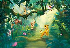 Fototapete Kindertapete LION KING JUNGLE 368x254 König der Löwen 8-tlg Dschungel
