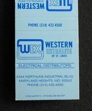 1980s? Western Extralite of St. Louis Electrical Maryland Heights MO St. Louis C