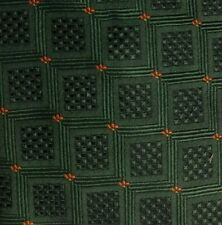 Green Orange ERVE JACQUES Silk Tie