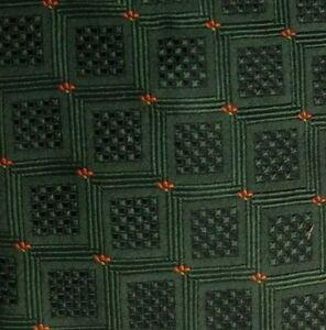 Green Orange ERVE JACQUES Silk Tie